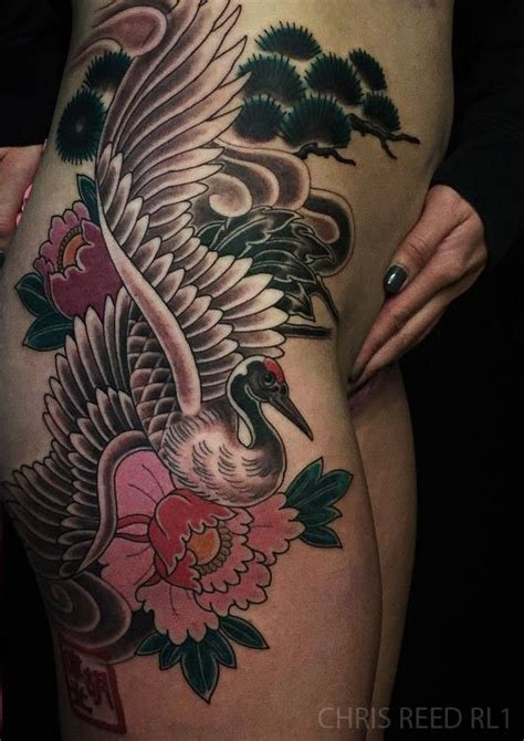 japanese crane tattoo 25 best ideas about crane on paper