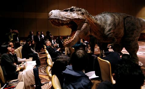 film robot dinosaurus japanese firm wants a real life jurassic park with world s