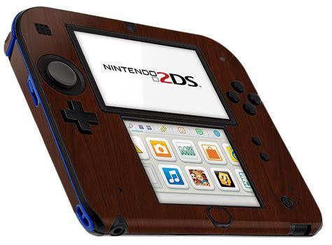 Nintendo 2ds Giveaway - skinomi techskin nintendo 2ds dark wood skin protector