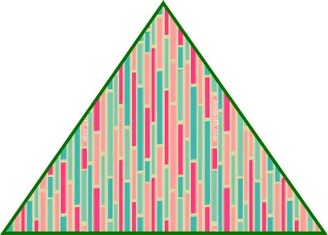 triangle pattern quiz clipart colorful triangle