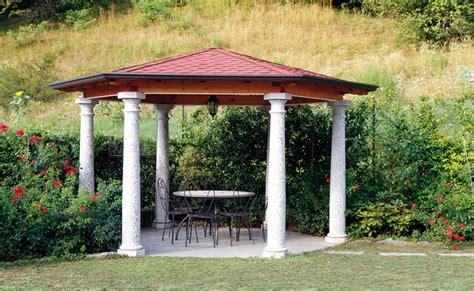 pavimenti per gazebo gazebo con colonne e pavimento in granito idee marmisti
