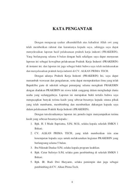 contoh laporan jaringan komputer contoh laporan prakerind