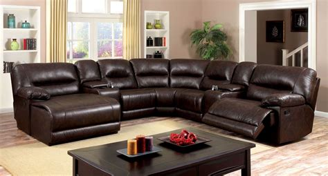 Home Furniture Glasgow Glasgow 7 2 Reclining Console Sectional From