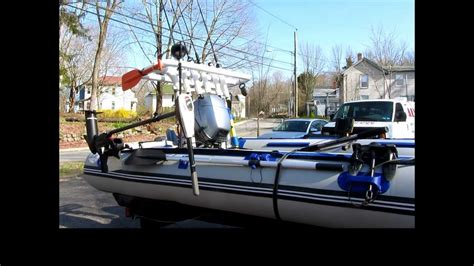 inflatable fishing boat video inflatable fishing boat tips youtube