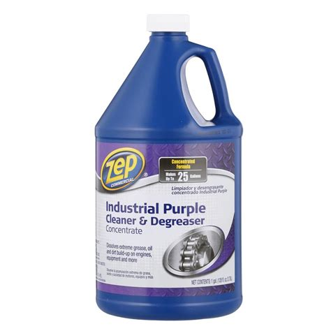 industrial degreaser cleaning solution for hoods zep 128 oz industrial purple degreaser zu0856128 the