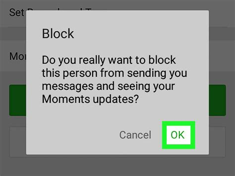 how to block someone on android how to block someone on wechat on android 6 steps with pictures