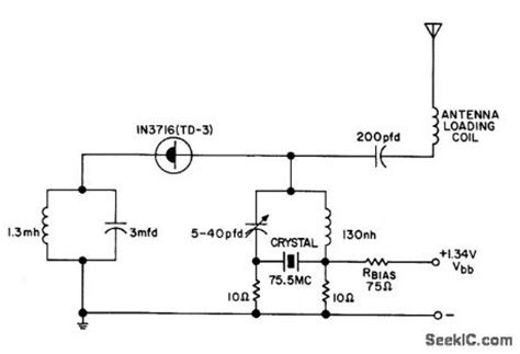 tunnel diode oscillator index 102 signal processing circuit diagram seekic