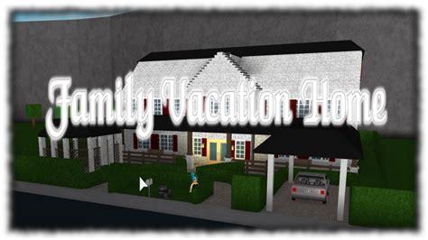 Roblox  FAMILY VACATION HOME (EXTERIOR)  Bloxburg   YouTube