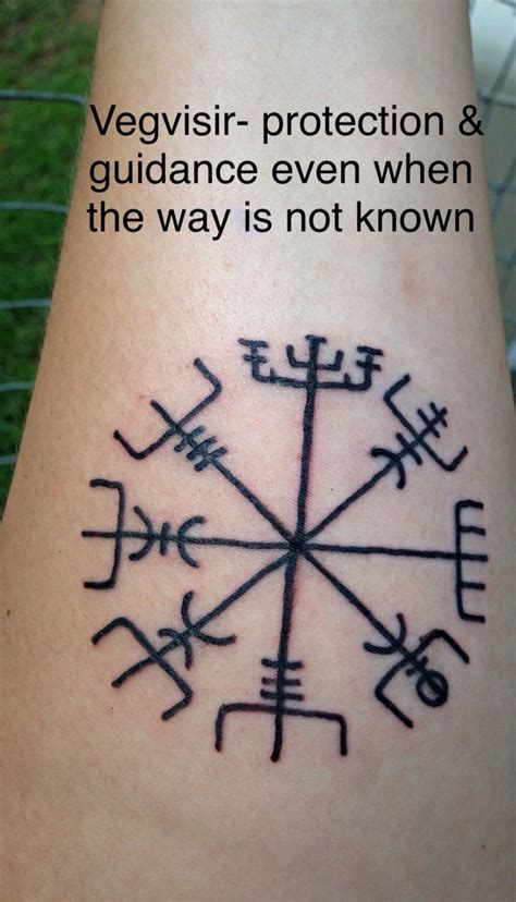 stay fresh tattoo my new i got last the vegvisir a viking