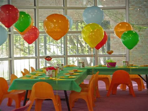 home decorating ideas for birthday party colorful house kids birthday party decorating ideas how