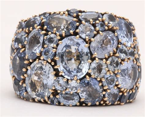 Yellow Sapphire Ceylon Set In Silver 925 Marilyn Cooperman Pale Sapphire Gold Band At 1stdibs