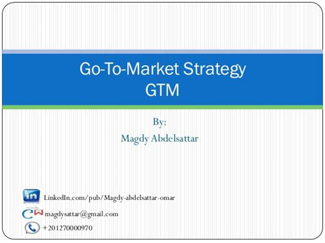 gtm plan template go to market strategy gtm