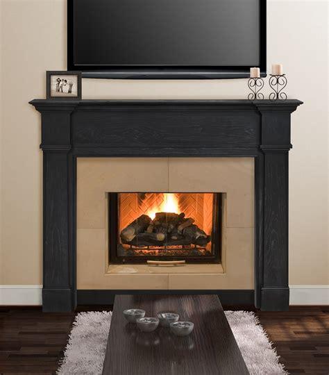 Fireplace Surrounds Oak by 48 Quot 56 Quot Avondale Surround Solid Oak And Oak Veneers