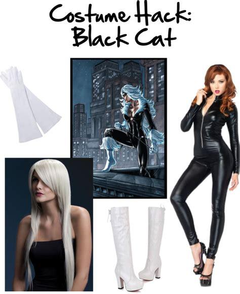 marvel black cat mask template costume hack diy black cat