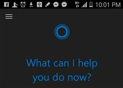 android cortana tester cortana sur android c est possible