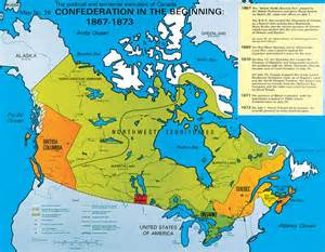 map of canada in 1867 mr charalambous class 8b geography