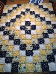 rag quilt around the world pattern i think
