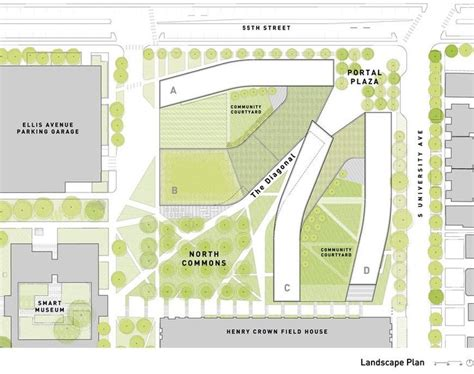 university commons chicago floor plans studio gang architects university of chicago cus