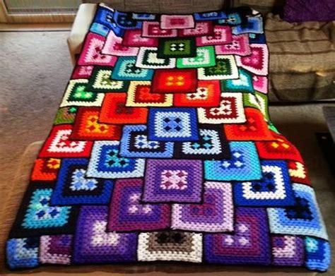 Decke Patchwork by Wonderful Crochet Blanket Crochet Patterns And Tutorials