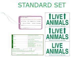 printable live animal stickers standard live animal labels free shipping dryfur 174