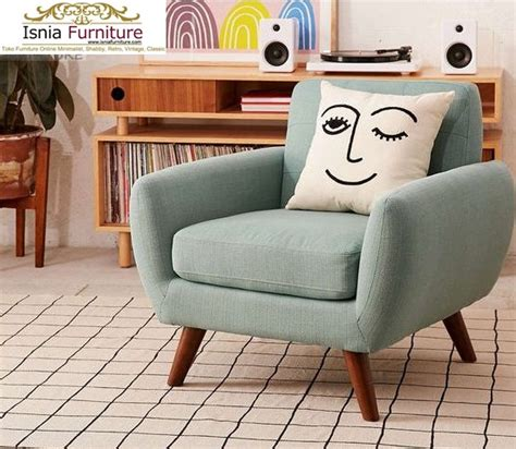 Kursi Retro Single Modern jual kursi sofa single retro modern murah bahan berkualitas termurah