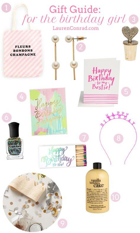 gift guide for the birthday girl lauren conrad