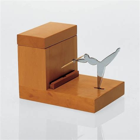 alessi toothpick holder contemporary desk accessories