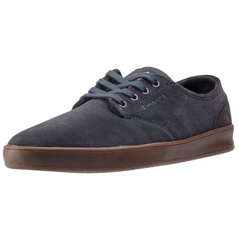 Adidas Romero Grey emerica the romero laced mens trainers in grey gum