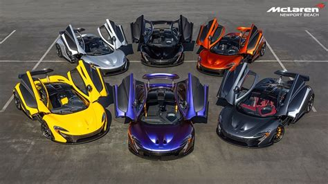 Exclusive Home Interiors by Mclaren P1 Rainbow At Mclaren Newport Beach