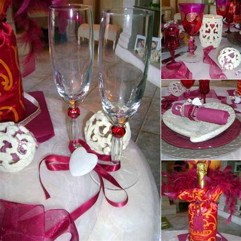 valentine table decorations table decorating ideas for valentines day pink ribbons