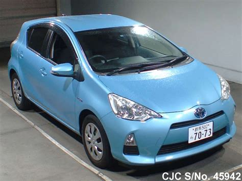 Ac Aqua Japan 1 2 Pk 2012 toyota aqua light blue for sale stock no 45942