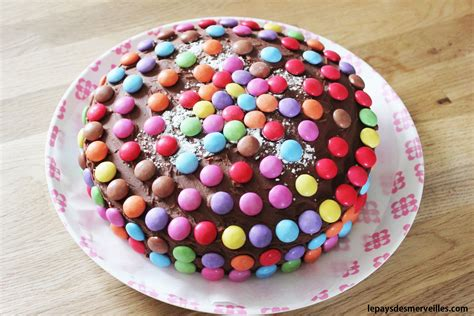 Gateaux Decoration by Gateau Chocolat Deco Smarties