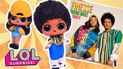 bruno mars cardi  finesse remix lol surprise dolls