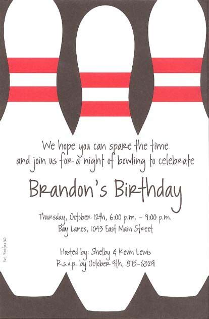 bowling party invitations template free alex birthday