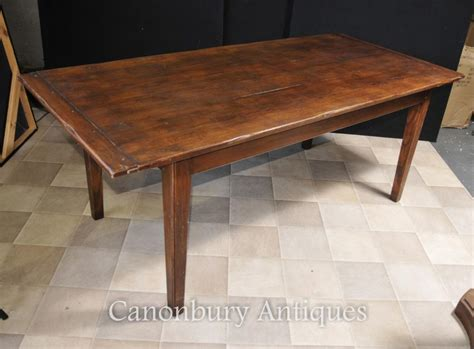 Refectory Dining Tables Refectory Farmhouse Dining Table Kitchen Diner Cherry