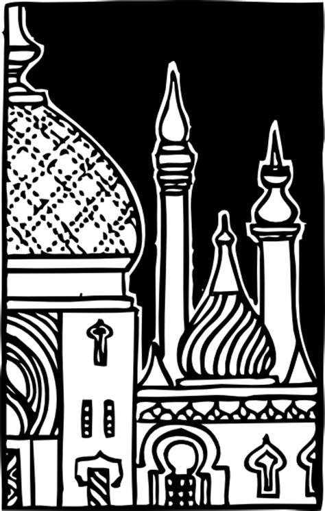 masjid clip art  clkercom vector clip art