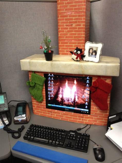 Fireplace On Computer Screen by Buenas Y Malas Ideas De Decoraci 243 N De Navidad Jobisblog