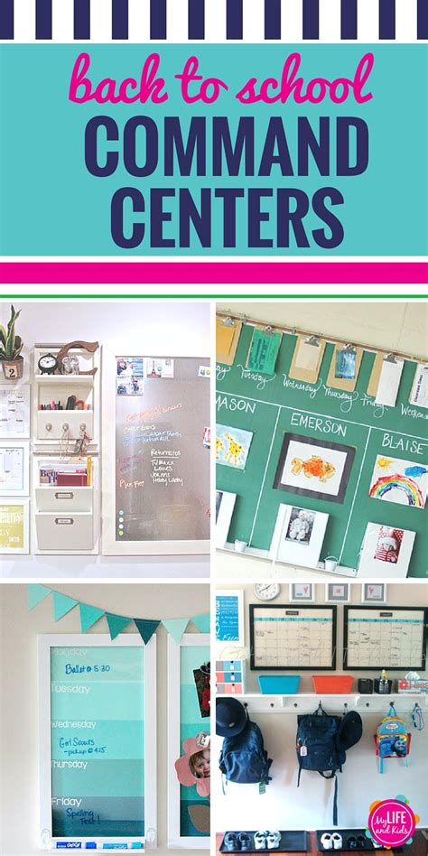 10 back to school command centers