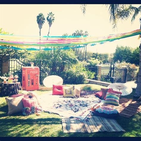 Backyard Quince Amaze Your Friends With A Coachella Theme Quinceanera