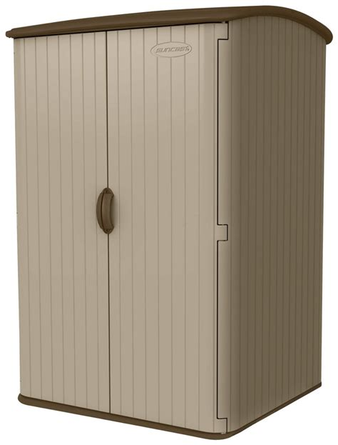 suncast outdoor storage cabinet rubbermaid large vertical storage shed best storage