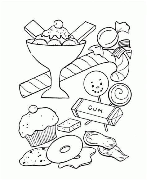 Get This Candy Coloring Pages Printable For Kids R1n7l Printable For Toddlers