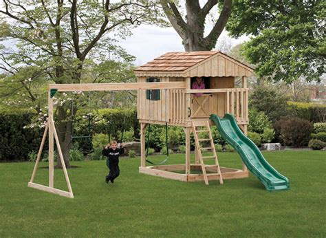 How To Make A Area In Your Backyard by Building A Playground Area In Your Backyard