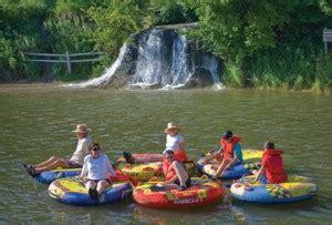 nebraska tubing on the water