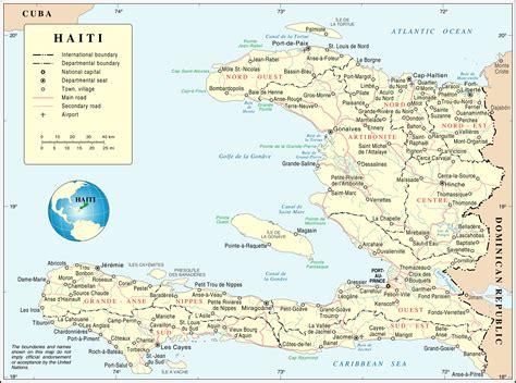 america map haiti map of haiti overview map worldofmaps net