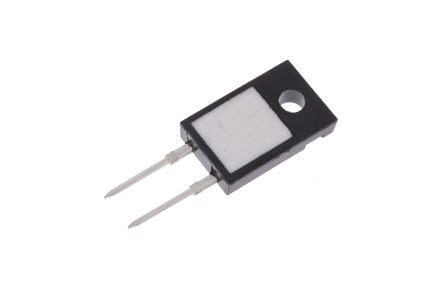 vishay fixed resistor lto050fr1000jte3 vishay lto50 series to 220 radial fixed resistor 100mω 177 5 50w 177 250ppm 176 c