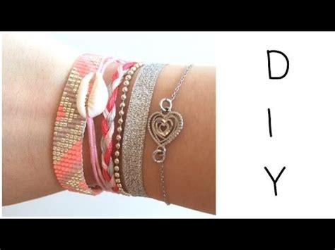 diy bracelet en perles tiss 233