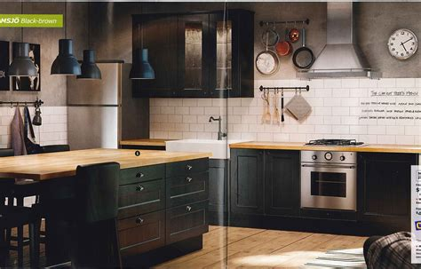 ikea black kitchen cabinets kitchen a modern hippy
