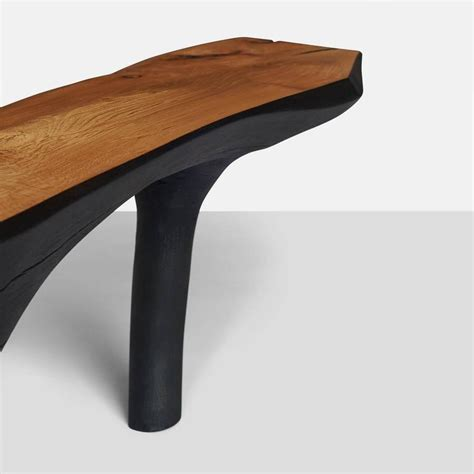 small black bench kaspar hamacher small black and white bench for sale at