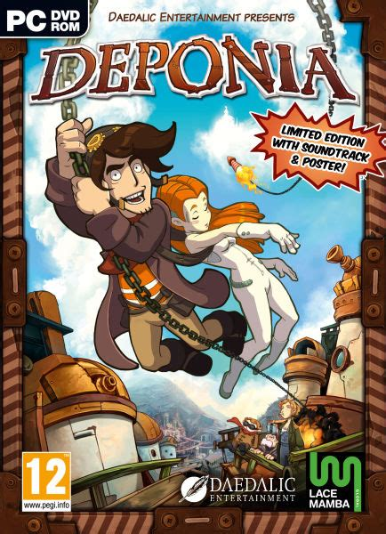 Kaos Pop Culture Pop Culture 06 deponia pc zavvi