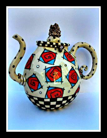 Home And Decorating Teapots Ann Marie Robinson Irish Ceramic Artist